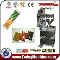 relay Automatic small Sauce bag packing machine