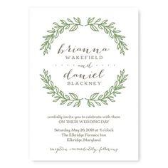 Verdant Wedding Invitations