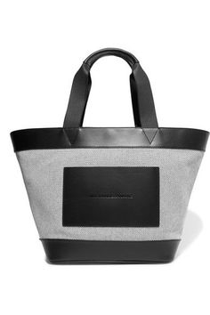 Alexander Wang Tote Bag in Black and White an absolute must have! Drop into Veranda Fashion 1155 High Street Armadale VIC 3143 for more Alexander Wang master pieces #AlexanderWang #Tote #Luxury #Veranda #Fashion