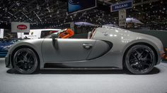 The most powerful factory-built roadster in the history - New Bugatti Veyron Grand Sport Vitesse