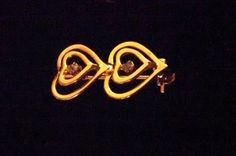 SALE Mini Gold Tone Double Heart Clear by MICSJEWELSGALORE on Etsy