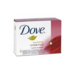 Dove Cream Oil Ultra Rich Velvet Beauty Bar Soap 3.5 Oz / 100 Gr (Case of 48 Bars) by Dove. $44.88. caring moisturizing oil. Dove beauty bar is the #1 choice of dermatologists. Box of 48 bars each bar individually wrapped. velvety smooth feeling. Dove Cream Oil Ultra Rich Velvet Beauty Bar Soap with 1/4 moisturizing cream is enriched with caring moisturizing oil to pamper your skin a little more.