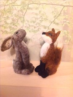 Moongazing fox and hare workshops  Www.facebook/feltsforever