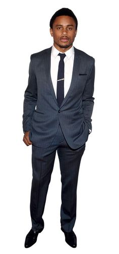 Nnamadi Asomugha. Best Dressed NFL Players - Best Dressed Football Players 2012 - Esquire *Get paid for your sports passion at www.sportsblog.com