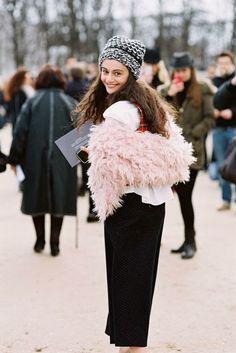 Paris Fashion Week AW 2014....Natalia (via Bloglovin.com )