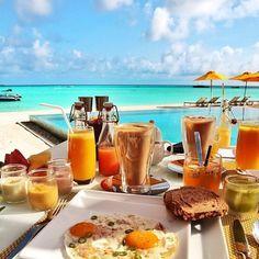 Breakfast anyone ? #travel, #ysbh, #breakfastwithviews