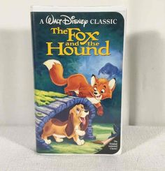 The Fox and the Hound VHS, 1994 Classic Black Diamond Collection