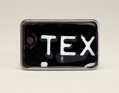 License Tag Buckle - '58 Texas Truck