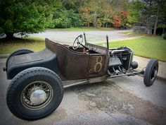 Vintage Trucks, Vintage Racing, Homemade Go Kart, Old Hot Rods, Traditional Hot Rod, T Bucket, Street Rods, Ford Models, Kustom