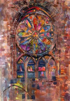 Stained Glass Window  - 4/20/14