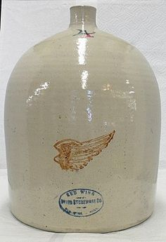 RED WING POTTERY 4 GALLON JUG - CROCK