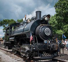 Little River Railroad #1 tank engine