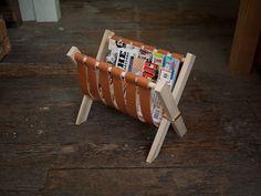 Useful and adorable DIY magazine Rack
