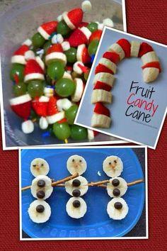 Healthy kids Christmas snacks