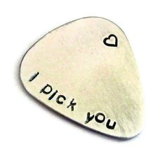 cute guitar pick..<3