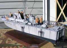 A very cool plastic model display of 1/35 Vosper plastic model military ship @ http://www.hobbylinc.com/cgi-bin/s8.cgi?str_s=vosper