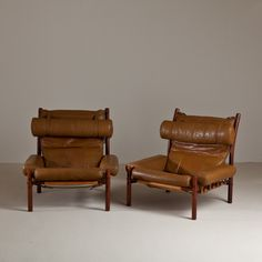 great old leather chairs