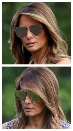 Melania Trump Hair Color, First Lady Melania Trump, Revelation Book, Malania Trump, Fashion Pics, People Dress, Hair Highlights, Cut And Color, Haircolor