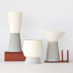 Supremo is a diverse selection of quality every-day-use objects based on the combination of white matte unglazed ceramic and grey velvet concrete. An exclusive and exciting range of beautiful elegance and playful eye-catchers. All items are designed and made by DECOVERY | essential details with quality materials and high manufacturing standards. The uncommon aesthetic of the collection offers unique contemporary feel to any space.