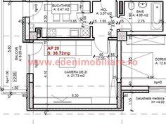 Apartament 1 camera 38-44 mp in Gheorgheni, Cluj Napoca