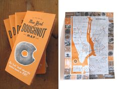 donut map of NYC - Google Search