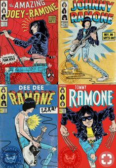 Its a Punk universe — The Ramones by Marvel Comics Rock Posters, Band Posters, Concert Posters, Gig Poster, Retro Posters, Ramones, Music Covers, Album Covers, Book Covers
