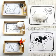 Farm Animal Activity and Coloring Pages for Farm Learning Activities - As You Know . - Farm Animal Activity and Coloring Pages for Farm Learning Activities – As you know, we started wi - Preschool Learning Activities, Animal Activities, Preschool Activities, Animal Worksheets, Farm Animal Crafts, Farm Animals, Jungle Animals, Farm Unit, Farm Theme