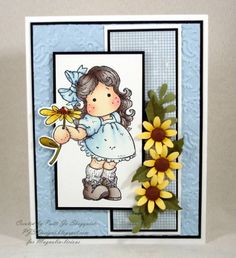 Dollop of Daisies card