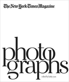 NY Times Photographs Coffee Table Book
