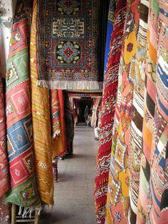Like a carpet Avenue....Marrakesh, Morocco