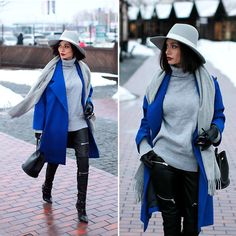 Get this look: http://lb.nu/look/8605403  More looks by Sonya Karamazova: http://lb.nu/sonyakaramazova  Items in this look:  Janessa Leone Hat, Acne Studios Scarf   #casual #chic #classic