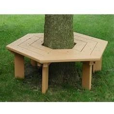 great for the tree in the middle of the back patio concrete.