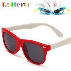f9f0fc56d4 Children TAC Polarized Sunglasses Kids Designer Sport Shades For Girls Boys  Goggle Baby Glasses Oculos Infantil