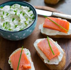Main Ingredients: BreadYield: Makes servingsPhoto and Recipe courtesy of Little Spice Jar, Marzia Brunch Recipes, Fall Recipes, Summer Recipes, Goat Cheese Recipes, Cheesy Recipes, Party Side Dishes, Colorful Vegetables, Smoked Salmon, Yummy Appetizers