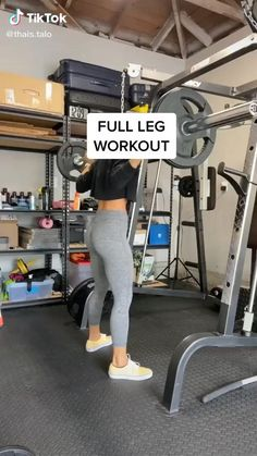 Fitness Workouts, Gym Workout Videos, Fitness Workout For Women, Fitness Motivation, Gym Leg Workouts, Lower Body Workouts, Leg Workout Women, Fitness Legs, Gym Workouts Women