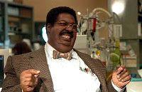 19 september 2011: Zit er wel wat in? Foto: Eddy Murphy als Prof. Sherman Klump in The Nutty Professor