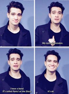 He is so honest with himself and about the band! I love Beebo so much!