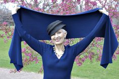 Judith from Style Crone - Fashion Blogger is the Queen of Hats | Fabulous After 40