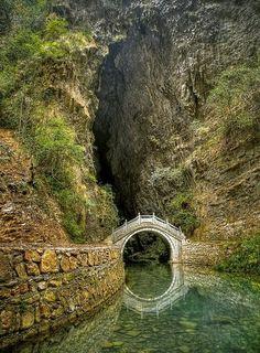 Moon Bridge, Zhangjiajie, Hunan, China