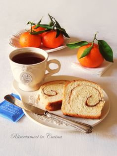Ritroviamoci in Cucina: No EGGS and BUTTER Tangerine Pan Brioche (with cinnamon swirl)