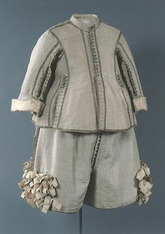 Suit 1650's, Swedish, Made of silk