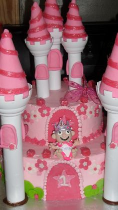 Emmas first birthday cake