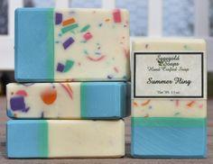 Summer Fling Handmade Cold Process Soap