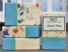 Summer Fling Handmade Cold Process Soap