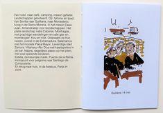 Snelle schetsen, eerste 2 pagina's | Formaat 9 x 12.2 cm | 24 pagina's, inclusief omslag | oplage 50 | tekst in Helvetica | digitale tekeningen | Printpapier 125 en 200 grams | geprint en genaaid  | 2018 zwaluw LXX | € 10