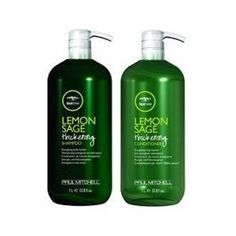 Paul Mitchell Lemon Sage Thickening Shampoo and Conditioner. Amazing for bluking up hair and making it look fuller!