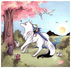 Okami - How is it that this adorable game has exist for over 6 years and I have never played it?!