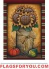 Sunflower Crock House Flag Fall Garden Flag, Autumn Garden, Garden Flags, House Flags, Crock, Frame, Painting, Decor, Art