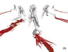 """""""Los hijos de los días"""" - Galeano ilustrado por Casciani 10/9 - acá podés leer el texto:http://andrescasciani.blogspot.com.ar/2016/09/los-hijos-de-los-dias-galeano-ilustrado_10.html"""