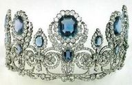 Sapphire and diamond tiara of Empress Josephine of France (1763-1814)